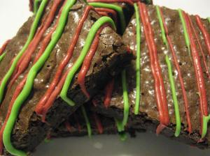 Christmas Gourmet Brownies