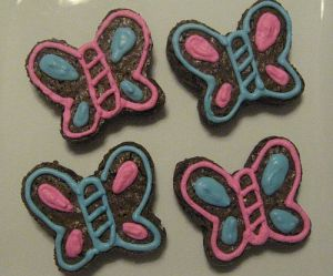 Butterfly Brownies