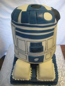 Birthday Cake R2D2 from Star Wars