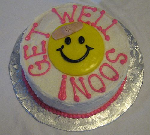 Get Well Soon Cake Delivery