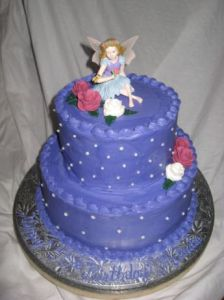 Purple Fairy Cake