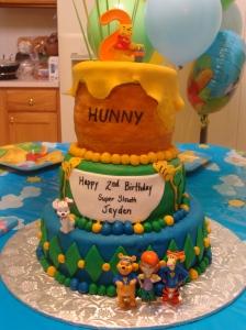 Winnie the Pooh Super Sleuth Birthday Cake
