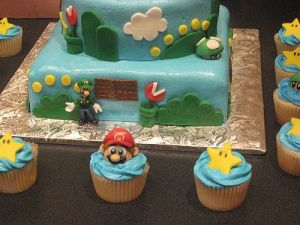 Super Mario Bros Birthday Party ideas