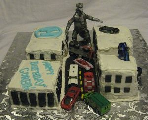 Godzilla Cake Mecha Godzilla