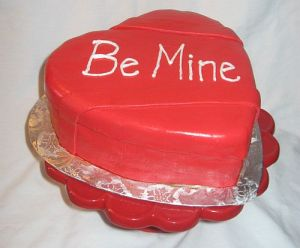 Valentine's Day Box of Chocolates Cake