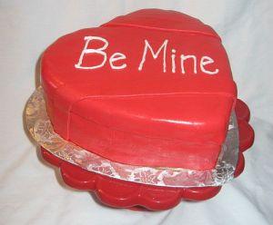Valentine's Day Box of Chocolates Cake