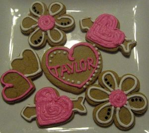 Personalized Valentine's Day Cookies!