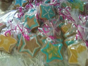 Custom Star Decorated Sugar Cookies Shipped to Great Barrington, MA