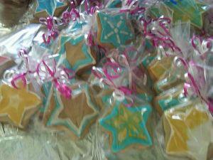 Custom Star Decorated Sugar Cookies Shipped to Great Barrington, MA