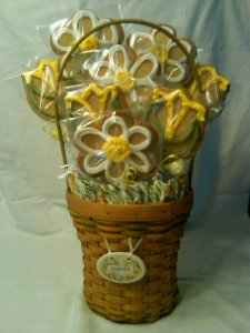 Decorated Basket Sugar Cookies Hope for Cope