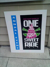 """One Sweet Ride 2010"" Motorcycle Ride for Bear Heart Baking Company July 2nd Grand Opening!"