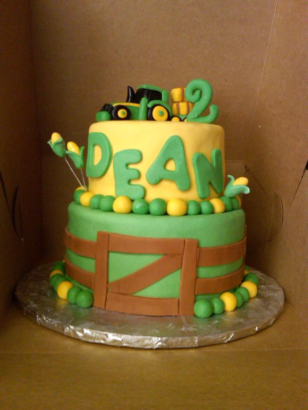 Astonishing John Deere Birthday Cakes Bear Heart Baking Company Funny Birthday Cards Online Elaedamsfinfo