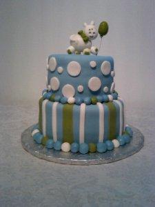 Baby Shower Cake for Baby Boy Shower